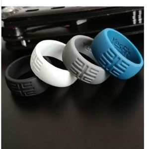 Silicone Wedding Ring for Men (Size 8)